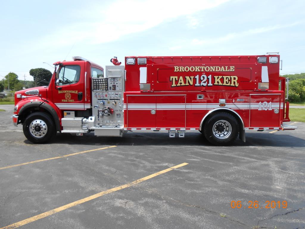 Brooktondale 2000 Gallon Tanker/Pumper