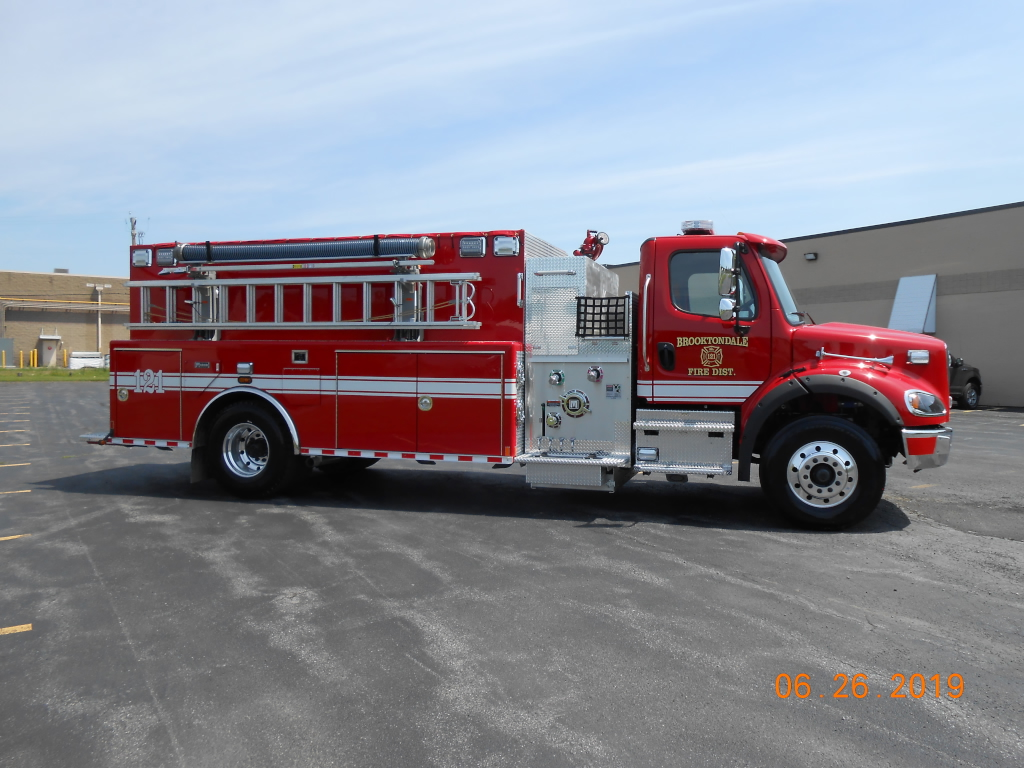 Brooktondale 2000 Gallon Tanker/Pumper